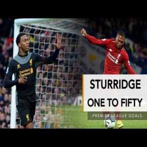 Daniel Sturridge's 50 Premier League goals for Liverpool