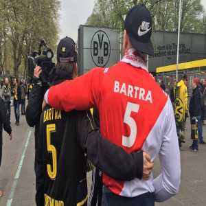 Marc Bartra: Today there's a new @championsleague game between @BVB - @AS_Monaco . I will never forget all the love that the two crowds and team mates gave me when I saw this images. Forever blessed