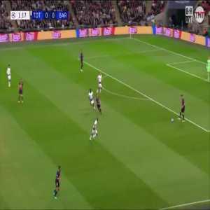 Tottenham 0-1 Barcelona - Coutinho 2'