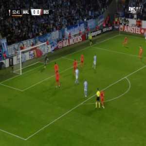 Malmo FF 1-0 Besiktas - Andreas Vindheim 53'