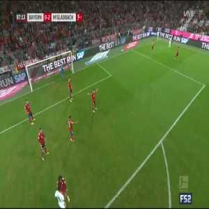 Bayern Munich 0-3 Monchengladbach - Herrmann 88'