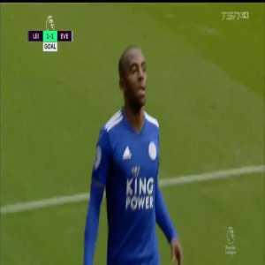 Ricardo Pereira goal (Leicester [1]-1 Everton) 40'