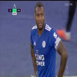 W. Morgan red card vs Everton