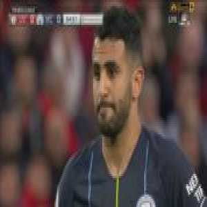 Mahrez penalty miss vs. Liverpool + call