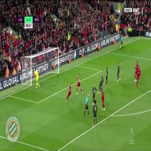 Mahrez penalty miss vs Liverpool