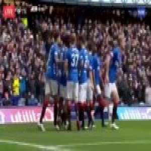 Rangers [1]-0 Heart of Midlothian — Ryan Kent 3'