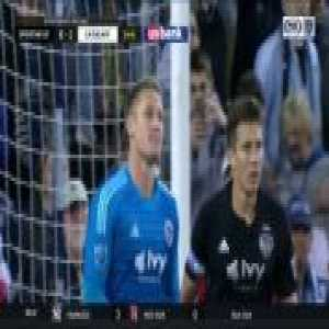 Zlatan Ibrahimovic Penalty Goal 25' - Sporting Kansas City 0-[1] Los Angeles Galaxy (MLS)