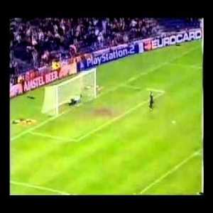 After seeing Buffon's save, it reminded me of Gregory Coupet's double save vs Rivaldo. What's your favourite goalie save?