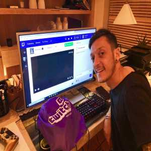 Mesut Ozil has created a Twitch channel that he'll soon stream on