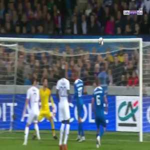 K. Árnason goal (France 0-[2] Iceland) 58'