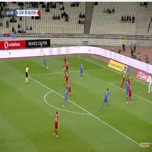 Greece 1-0 Hungary - Konstantinos Mitroglou 65'