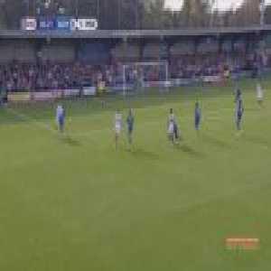 AFC Wimbledon 0-2 Portsmouth - Gareth Evans 31'