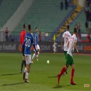 Bulgaria 0-1 Cyprus - Grigoris Kastanos 41'
