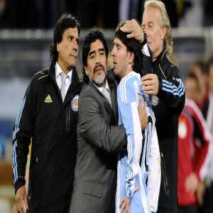"""Maradona: """"Messi can't be a leader as he goes to the toilet 20 times before every game"""""""