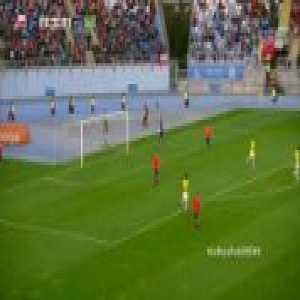 Vinicius Jr run vs Chile U20