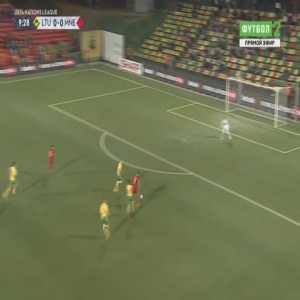 Lithuania 0-1 Montenegro - Stefan Mugosa 10'