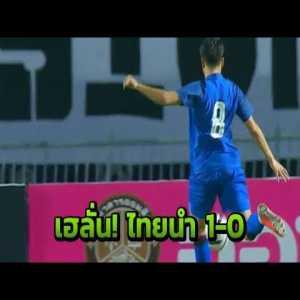 Thailand [1]-0 Trinidad and Tobago (Thitipan 66')