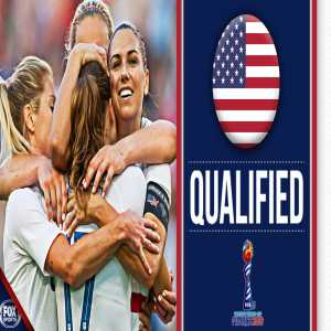 USA have qualified for the 2019 Women's World Cup!