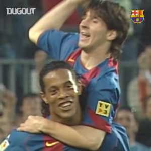 14 years ago Messi made his first team debut