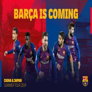 After two years of consecutive trips to the United States, Barça will be going to Japan and China for the 2019 summer tour.