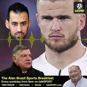 """""""Busquets is no better than Dier... ...Dier does a similar job to Busquets but he gets a lot of criticism for it!""""- Sam Allardyce"""