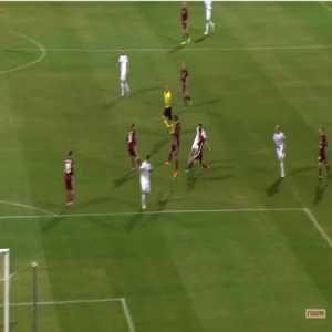 Latvia 0-2 Georgia - Valeriane Gvilia 29'