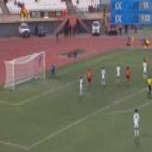 Lesotho 0-1 Uganda - Farouk Miya 6'