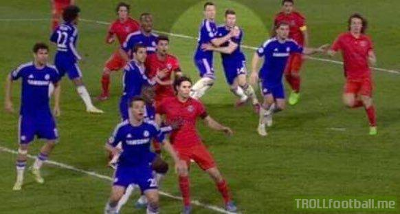 Never forget John Terry and Gary Cahill's finest defensive moment.