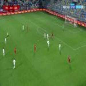 Poland U21 [1]:0 Georgia U21 - Filip Jagiełło 52'