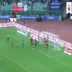 All goals: Chennaiyin 3-4 NorthEast United [Indian Super League]