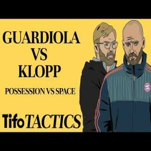 Beautiful tactical video on Klopp v Guardiola