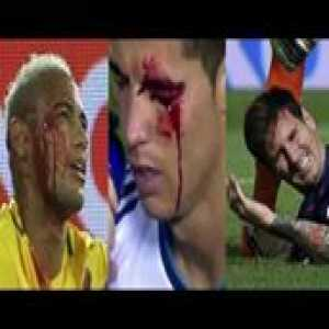 Players Hunting on Neymar, Lionel Messi, Cristiano Ronaldo Horror_Fouls and Tackles