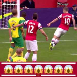 5 years ago today Arsenal scored this beautiful team goal