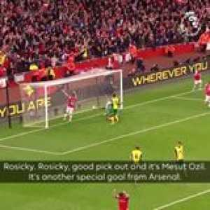Best team goal in Premier League history?  OnThisDay in 2013, Arsenal produced a magical performance