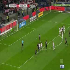 Eintracht Frankfurt 1-0 Fortuna Düsseldorf - Haller 20' (Penalty)