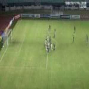 Great free-kick goal by Takefusa Kubo vs North Korea U19