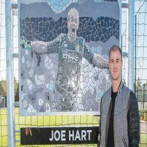 Manchester City have dedicated a goalkeeper training pitch to Joe Hart in recognition of his 12 years of service