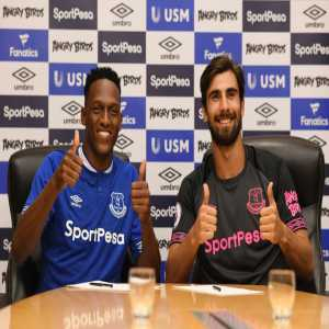 Marco Silva confirms that André Gomes and Yerry Mina are set to start for the first time in the Premier League against Crystal Palace