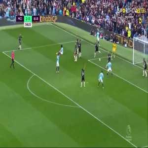 Bernardo Silva goal (Man City [2]-0 Burnley) 54'