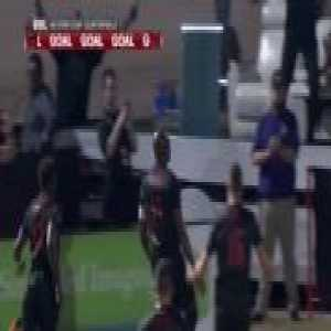 Didier Drogba's great free kick goal in the first round of the USL playoffs