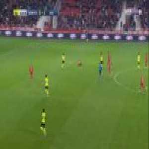 Dijon 0-2 Lille - Luiz Araujo 43'