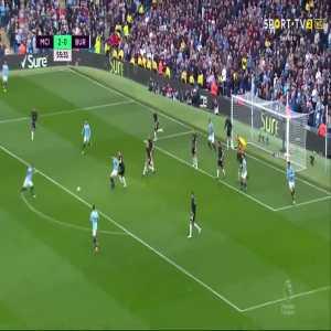 Fernandinho goal (Man City [3]-0 Burnley) 56'