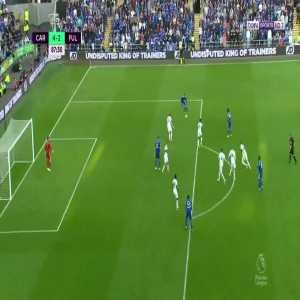K. Harris goal (Cardiff [4]-2 Fulham) 87'