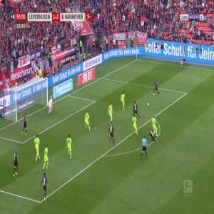 Leverkusen [2]-2 Hannover - Karim Bellarabi 90'+4'