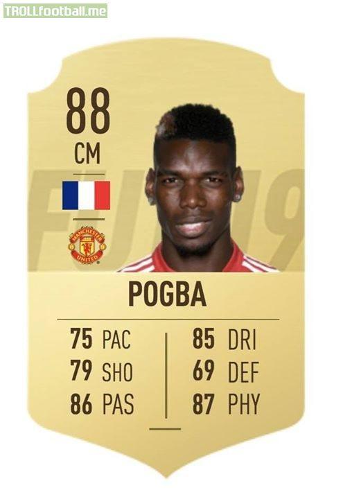 Paul Pogba for France vs Paul Pogba for Man Utd