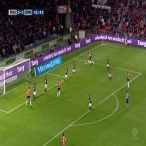 PSV 4-0 FC Emmen - Gaston Pereiro 42'