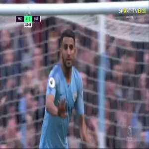 R. Mahrez goal (Man City [4]-0 Burnley) 83'