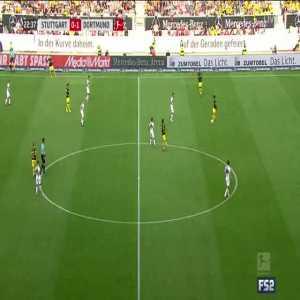 Stuttgart 0-2 Dortmund - Reus 23'