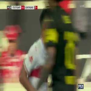 Stuttgart 0-3 Dortmund - Alcácer 25'
