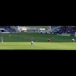Sunderland [2] - 0 Shrewsbury. Sweet Luke O'Nien